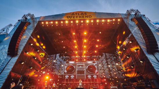 ATLAS WEEKEND 2017 – Main stage sound The Prodigy, East stage, West stage