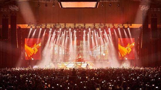Konzert von «Scorpions»-2017 im Rahmen der Welttournee
