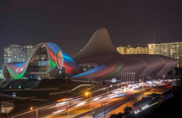 """WHITE SING"" HEYDAR ALIYEV CENTER BAKU"